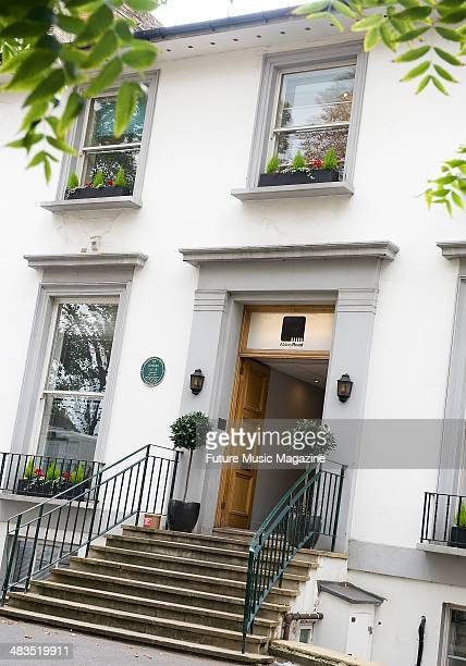 The entrance to Abbey Road Studios, London, September 21, 2010.