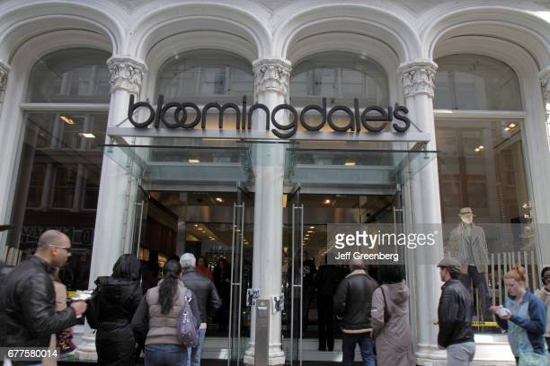 The entrance to Bloomingdale's in SoHo