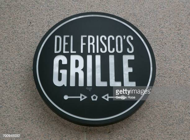 The entrance to Del Frisco's Grille restaurant on Pennsylvania Avenue is viewed on June 6, 2017 in Washington, D.C. The nation's capital, the sixth...