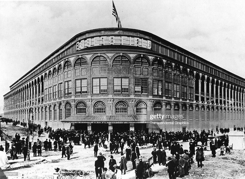 Ebbets Field Facade : News Photo