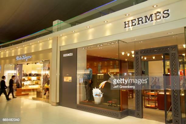 The entrance to Hermes at Suvarnabhumi International Airport