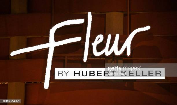 The entrance to Hubert Keller's Fleur Restaurant located in the Mandalay Bay Hotel Casino is viewed on December 19 2018 in Las Vegas Nevada During...