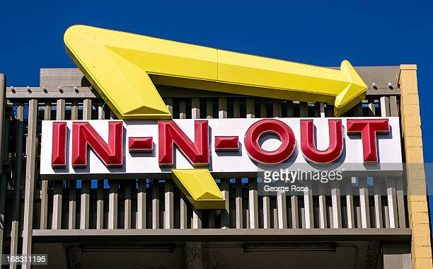 The entrance to InNOut fast food restaurant at Fisherman's Wharf is viewed on April 15 in San Francisco California Some 136 million international...