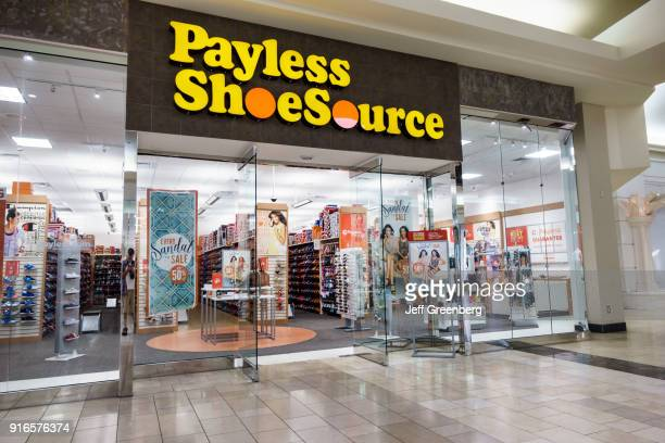 The entrance to Payless ShoeSource at the Coastland Center Shopping Mall