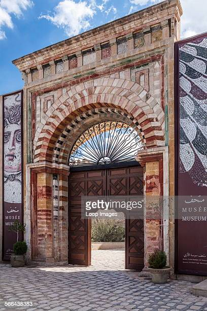 The entrance to the Archaeology Museum in Sousse in Tunisia
