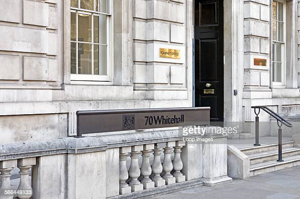 The entrance to the Cabinet Office at 70 Whitehall The Cabinet Office supports the Prime Minister and the Cabinet to make government work better