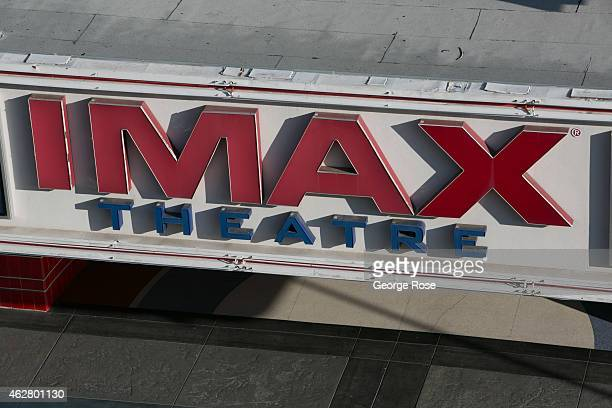 The entrance to the Esquire IMAX Theatre is viewed on January 27 in Sacramento California Sacramento is the capital city of the State of California...