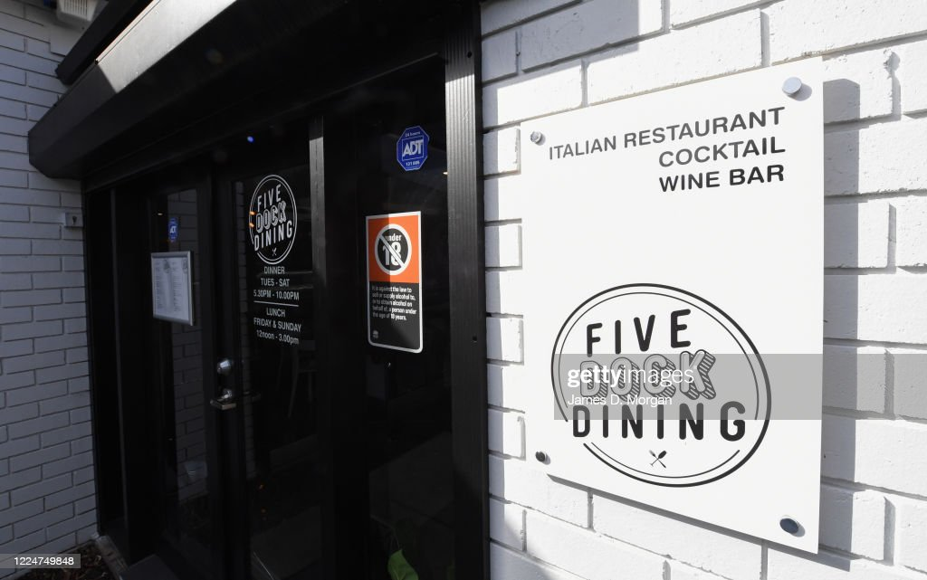 Restaurant To Reopen With Cardboard Guests As Sydney Coronavirus Restrictions Ease : News Photo