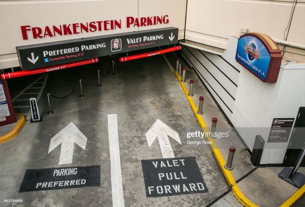 The Entrance To The Quot Frankenstein Quot Parking Lot At