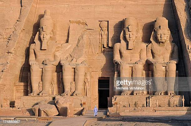 CONTENT] The entrance to the great Temple at Abu Simbel which is located close to the southern border of Egypt it consists of two rockcut Temples...