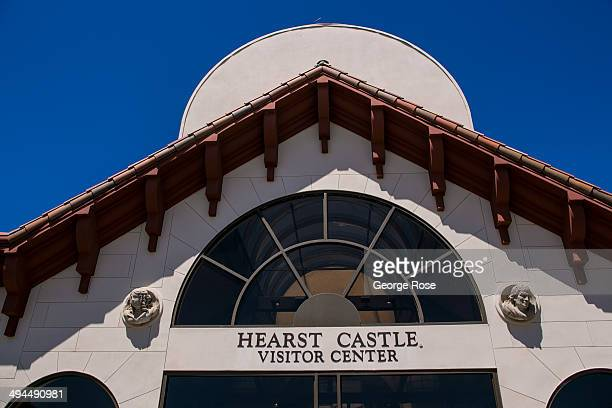 The entrance to the Hearst Castle Visitor Center is viewed on May 11 in San Simeon California Hearst Castle built by newspaper publisher William...