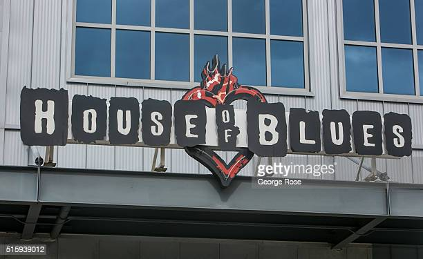 The entrance to the House of Blues is viewed on February 29 2016 in Houston TX Despite the plunge in oil prices Houston the corporate energy capital...