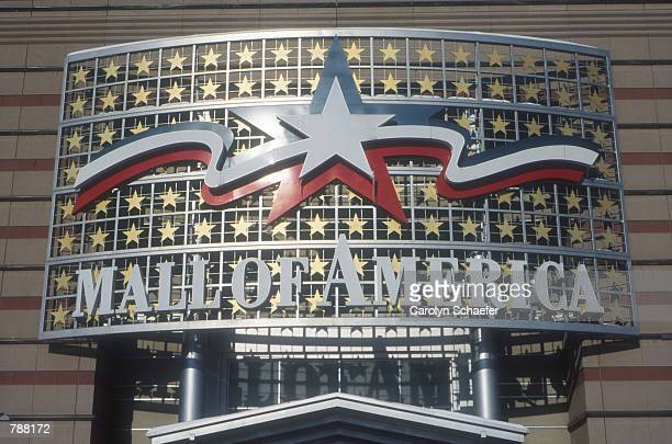 The entrance to the Mall of America June, 1999 in Minneapolis, MN. The mall is the largest in America and attracts over 43 million people per year...