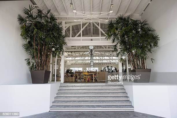 The entrance to the Mod workspace stands in San Francisco California US on Tuesday April 26 2016 Mod hopes to elbow its way into the muchhyped...