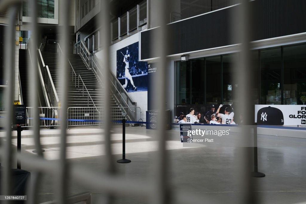 Businesses Around Yankee Stadium Falter As Baseball Resumes Without Fans : News Photo