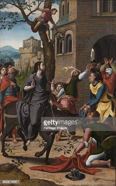 The Entry of Christ into Jerusalem ca 15331534 Found in the collection of Bonnefantenmuseum Maastricht Artist Coecke van Aelst Pieter the Elder