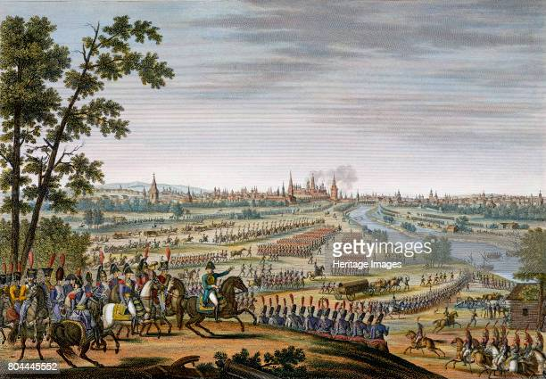 The entry of the French into Moscow 14th September 1812 After the bloody but indecisive Battle of Moscow the Russians retreated leaving the French to...