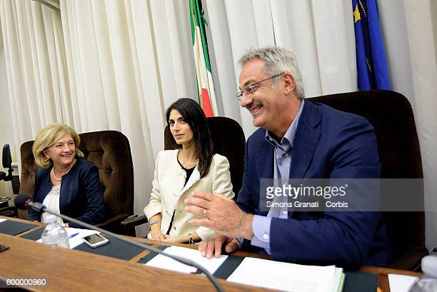 The environment councilor Paola Muraro and the mayor of Rome Virginia Raggi heard by the Environmental Parliamentary Commission against Ecomafie...