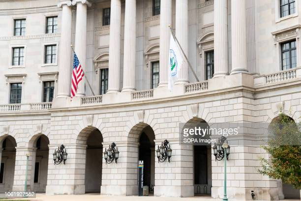 The Environmental Protection Agency building in Washington DC