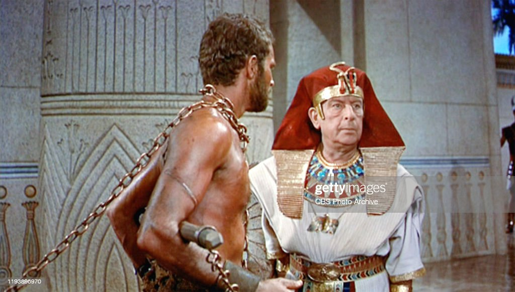 "The epic movie ""The Ten Commandments"", directed by Cecil B. DeMille....  News Photo - Getty Images"