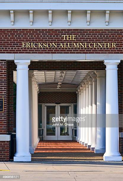 the erickson alumni center at west virginia university - alumni stock pictures, royalty-free photos & images