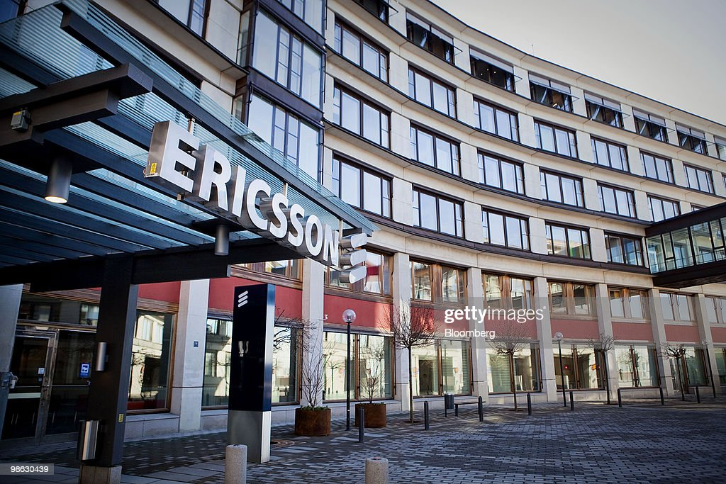 The Ericsson AB company headquarters sit in Kista, Sweden, on Friday, April 23, 2010. Ericsson AB the world's largest maker of wireless networks said its U.S. operations were strong and consumer demand for more wireless bandwidth was fueling growth. Photographer: Casper Hedberg/Bloomberg via Getty Images