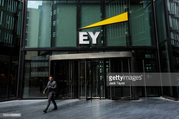 The Ernst Young offices stand in 1 More London Riverside on October 1 2018 in London England The government has called for a review of the British...