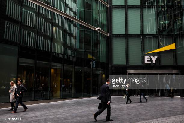 The Ernst Young offices stand in 1 More London Riverside on October 2 2018 in London England The government has called for a review of the British...