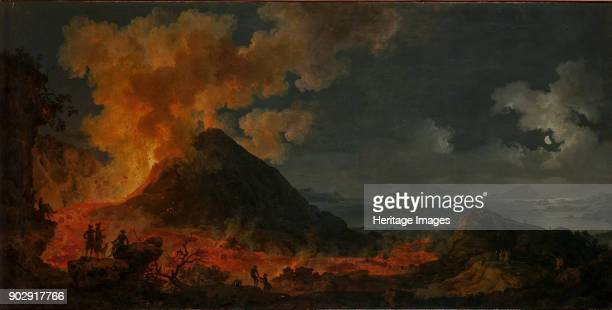 The eruption of Vesuvius Found in the Collection of State Hermitage St Petersburg