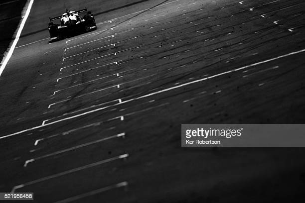 The ESM Ligier Nissan of Scott Sharp, Ed Brown and Johannes van Overbeek drives during the FIA World Endurance Championship Six Hours of Silverstone...