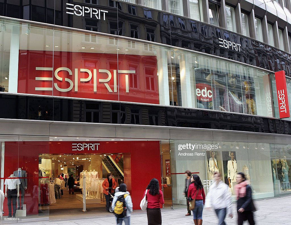 The Esprit Mega Store store is seen on April 22, 2005 in Hamburg, Germany. The Clothes Company Esprit is represented in 44 Countries on five continents.