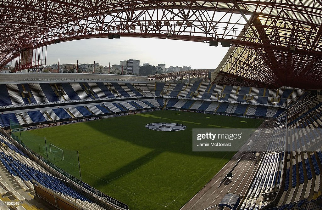 The Estadio Municipal de Riazor  : ニュース写真
