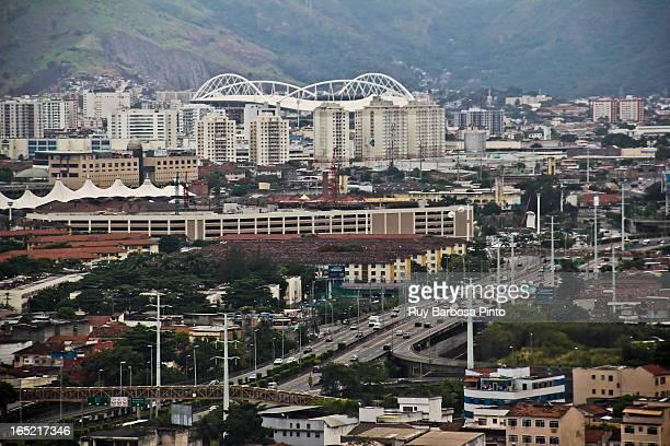 The Estádio Olímpico João Havelange, also known by its nickname Engenhão, is a multi-use stadium located in the bairro of Engenho de Dentro of Rio de...