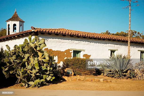 the estudillo house in old town san diego, san diego, california, usa - old town san diego stock pictures, royalty-free photos & images