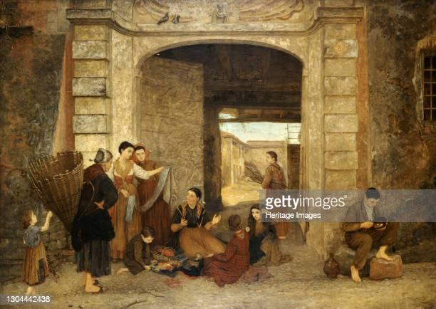 The Eternal Door , 1876. Artist Louisa Starr.