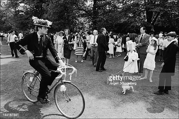 The Eton College Open Day UK 4th June 1983
