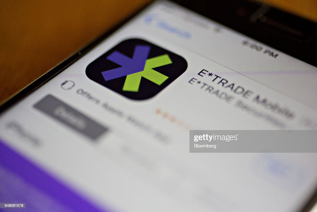 The E*Trade Financial Corp. App Ahead Of Earnings Figures