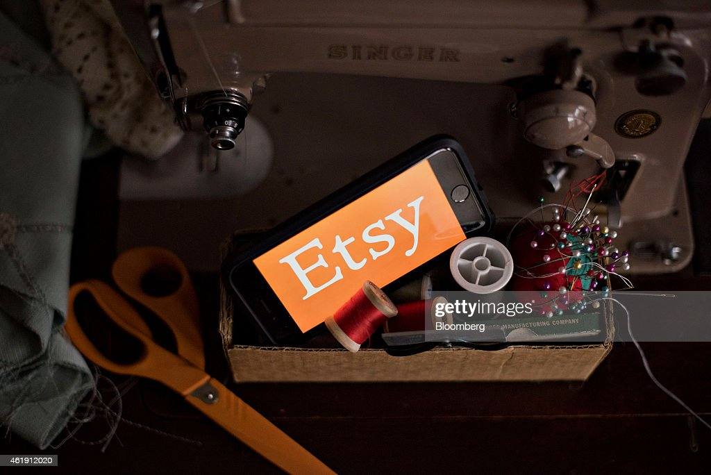 Etsy Crafts IPO Putting New York Tech Companies Back On The Map : News Photo