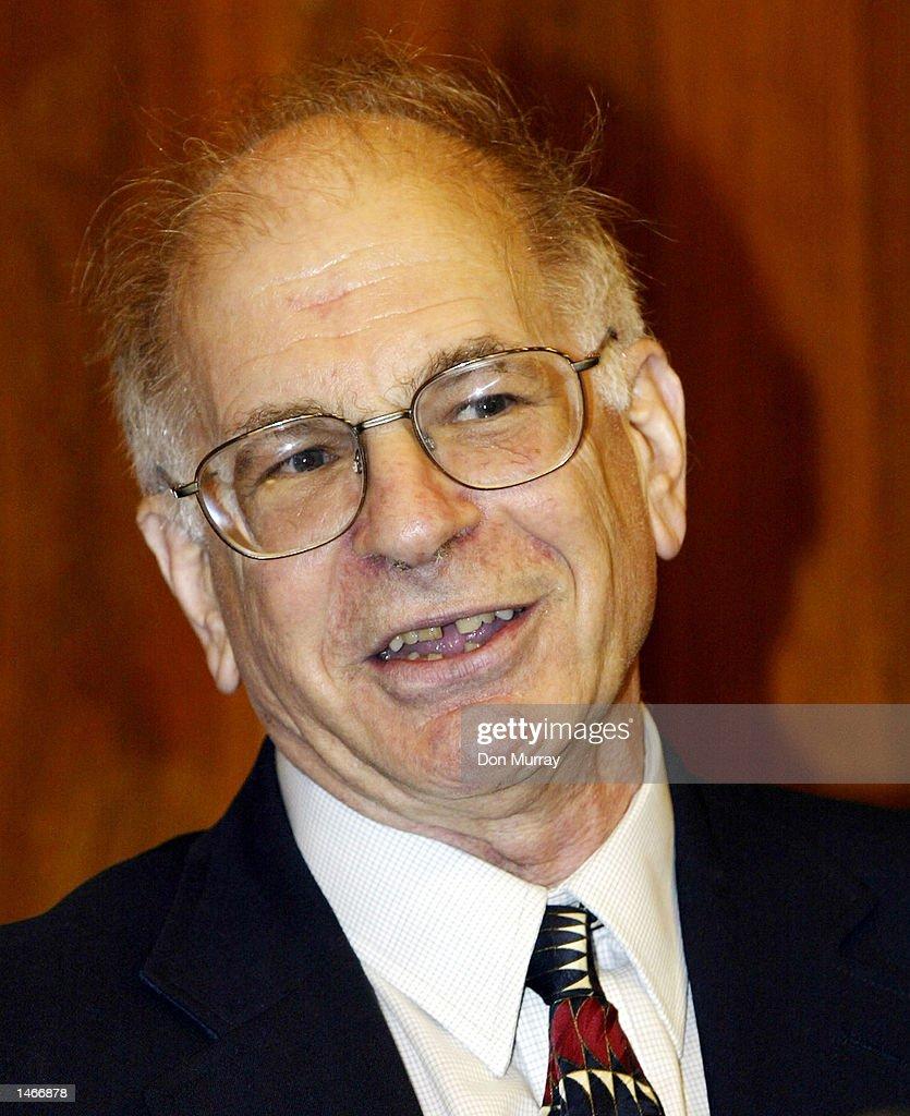 Nobel Prize Winner Kahneman : ニュース写真