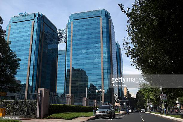 The Euro Plaza business center stands in Guatemala City Guatemala on Wednesday Sept 2 2015 Guatemala which saw its president resign on Thursday is...