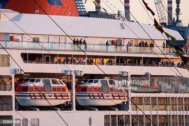 The Europa Cruise Ship 2 during the 827th HAMBURG PORT ANNIVERSARY on May 7 2016 in Hamburg Germany