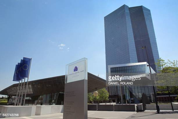 The European Central bank ECB is pictured in Frankfurt am Main western Germany on June 24 2016 ECB said on June 24 2016 being ready to provide...