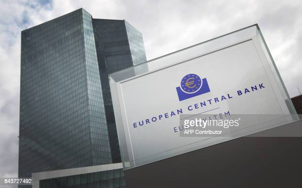 The European Central Bank is pictured in Frankfurt/Main Germany on September 7 2017 / AFP PHOTO / Daniel ROLAND