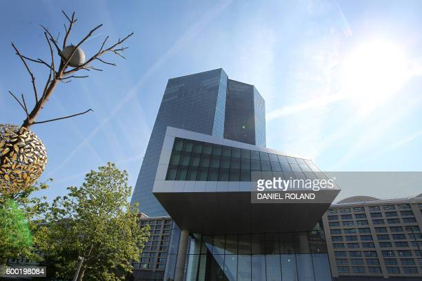 The European Central Bank is pictured in Frankfurt/Main Germany on September 8 2016 The European Central Bank held its recordlow interest rates...