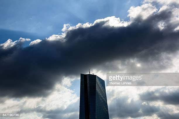 The European Central Bank pictured on July 06 2016 in Frankfurt Germany The city of Frankfurt is seeking to attract financial jobs away from London...
