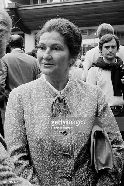 The European Parliament elected French lawyer and politician Simone Veil as its President