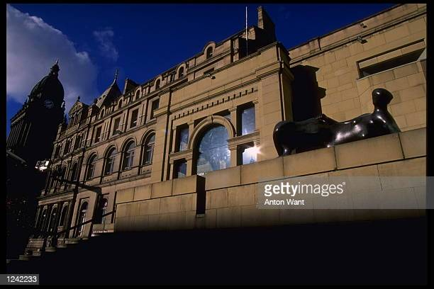The European Soccer Championships preview feature Leeds museum of modern art in the city centre Leeds one of the chosen cities to stage the...