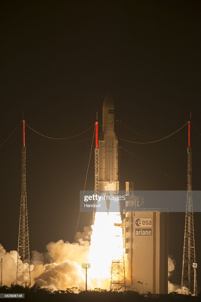 Launch Readied For Supply Mission To International Space Station : News Photo