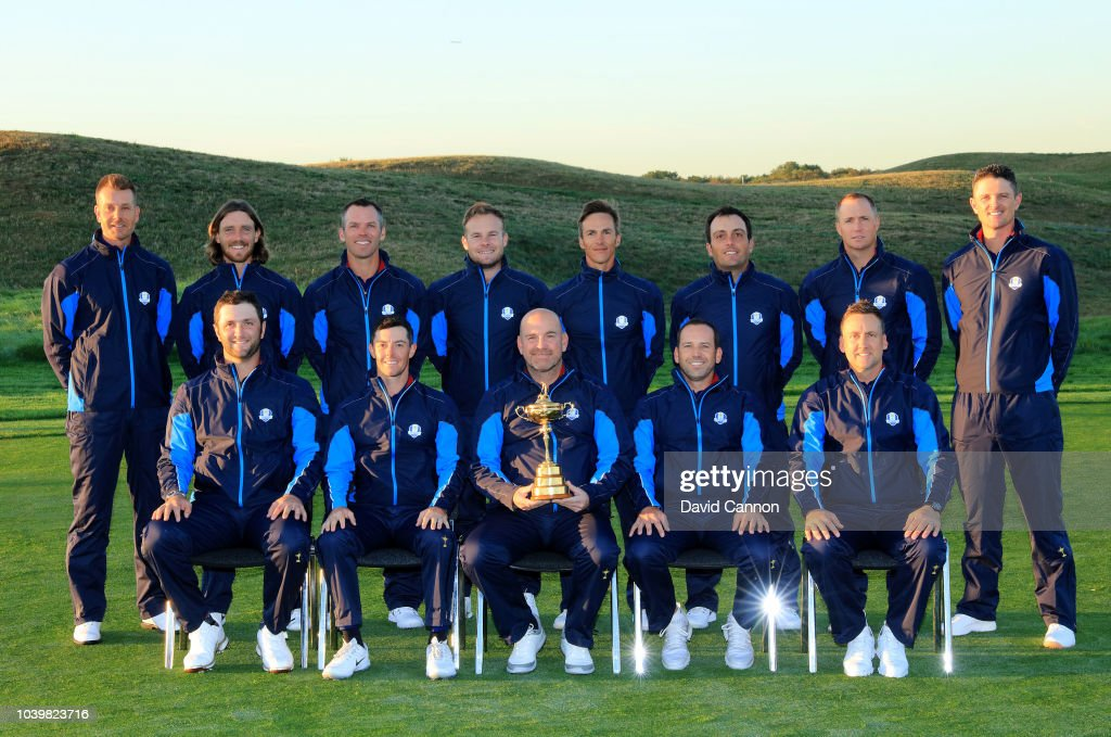 2018 Ryder Cup - European Team Photocall : News Photo