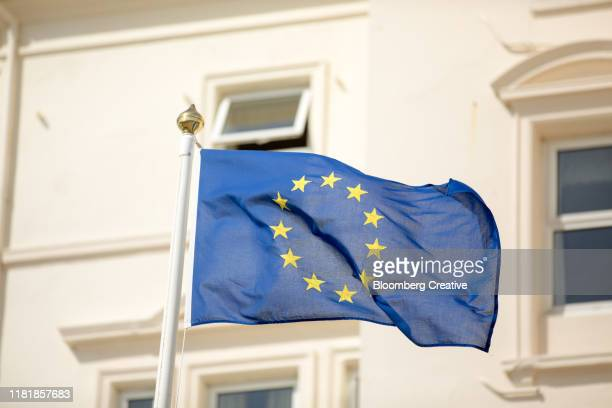 the european union flag - europe stock pictures, royalty-free photos & images